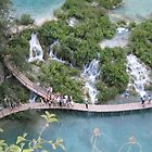 Waterfalls at Plitvice Lakes National Park by machka