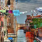 Venice washing #7 by Luke Griffin