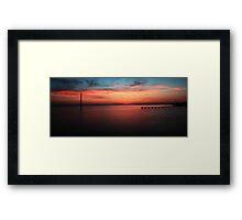 Peace River  Framed Print