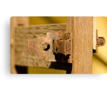 Old Door Lock! Canvas Print