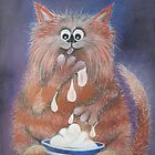 The Cat Who Got The Cream  by Caroline  Peacock