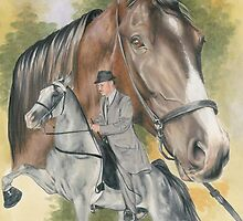 Tennessee Walking Horse by BarbBarcikKeith