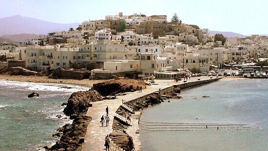 Naxos: the docks walk by bubblehex08