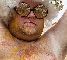 Portraits from The 2011 Coney Island Mermaid Parade-9 by alan shapiro