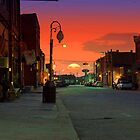 Sundown on Mainstreet by Herb Spickard