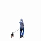 Hoodie with dog..... by DaveHrusecky