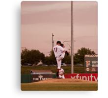 Giants Pitcher Barry Zito - Triple A Rehab Canvas Print