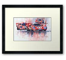 Ferrari 512 S 1970 24 Hours of Daytona Framed Print