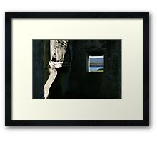 Derelict view Framed Print