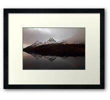 Autumn Lake-V Framed Print