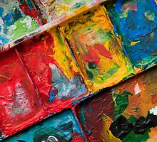 Artist's Pallette by Orla Cahill Photography