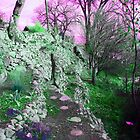 Terraced Garden Fantasy 4 by Lenore Senior