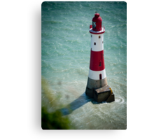 Beachy Head Lighthouse - Sussex, UK. Canvas Print
