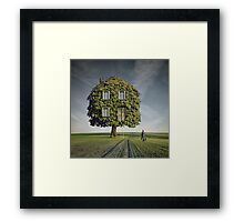 Wooden House Framed Print