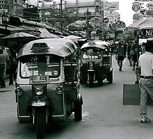 Khao San Road, Bangkok, Thailand by danjc7
