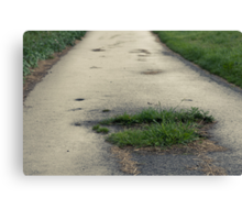The Road Of Hope Canvas Print