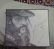 Lemmy Kilmister by bellamyribeiro
