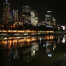 Melbourne Lamplight by John Dalkin