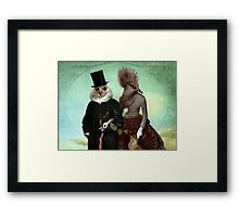 Mr. and Mrs. Schnabel Framed Print