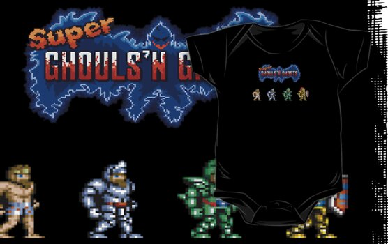 Super Ghouls'n Ghosts by Cat Games Inc