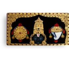 Lord Balaji  Canvas Print