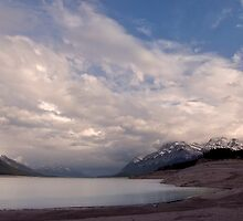 Sunset at Abraham Lake.2 by Alex Preiss