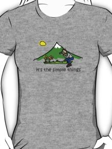 Wildflower Photography - Simple Things T-Shirt