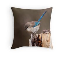"""""""Up Here"""" Throw Pillow"""