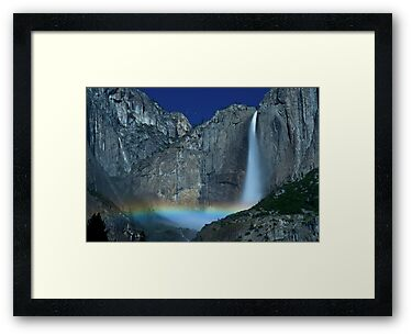 Yosemite Falls Moonbow by MattGranz