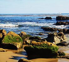 Heisler Beach Rocks: Laguna Beach by E.E. Jacks