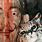 Dali and his cat by LoveringArts