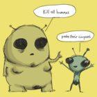 It's okay when aliens say it. by Paul McClintock