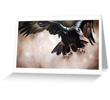 """""""Alight - The Wedge-tailed Eagle"""" Greeting Card"""