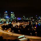 Perth city Lights War Memorial Lookout 2 by Jaxybelle