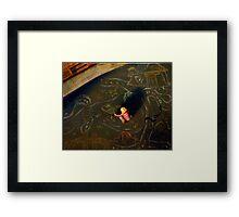 Chalk Land Framed Print