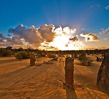 Nambung National Park Pinnacles 3 by Jaxybelle