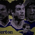 Everton Player Collage by chrisjh2210