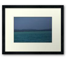 Glen Lake Blues Framed Print