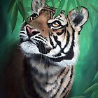 """""""Target in Sight - Tiger"""" by Michelle Caitens"""