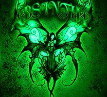 Absinthe Fairy 002 by Jesse Lindsay 2011 by jesse lindsay