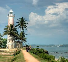 Lighthouse at Galle Fort by Dilshara Hill