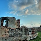 Ruins at Galle Fort by Dilshara Hill