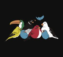 Furious Feathered Friends Kids Clothes