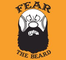 Fear The Beard Baseball Shirt by Fear The Beard by FearTheBeard
