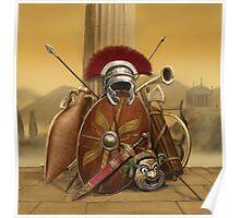 Roman Stuff Poster