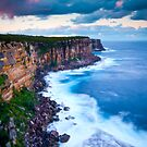 Cliffs at North Head by Melissa Fiene