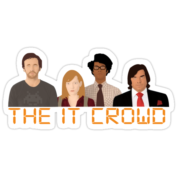 The IT Crowd by lukeshirt
