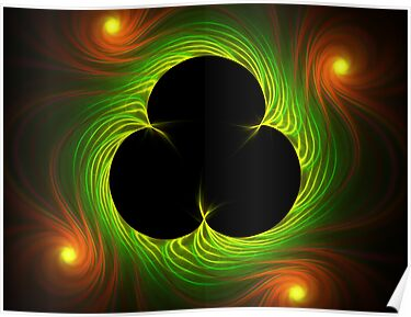 Van Gogh's Shamrock from Spider Mum Flame by barrowda