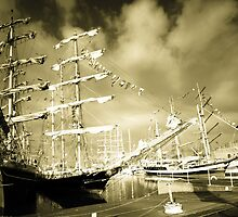 Tall Ships at Hartlepool by Dave Hudspeth