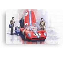 Ferrari 206 SP Dino 1966 Nurburgring Pit Stop Canvas Print